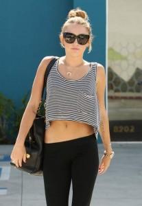 Le tatouage citation de Miley Cyrus