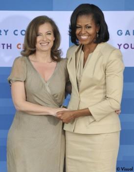 Valérie Trierweiler et Michelle Obama