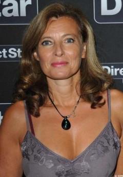 Valérie Trierweiler compagne de François Hollande