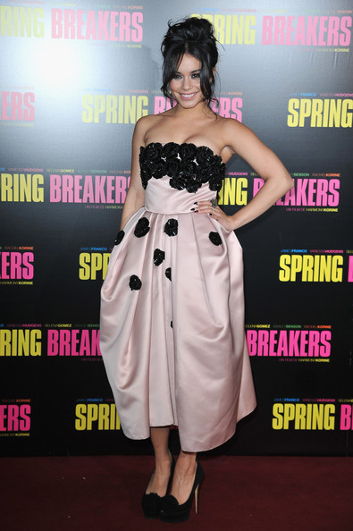 Vanessa Hudgens pour Spring Breakers au Grand Rex
