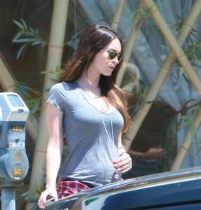 Le ventre de Megan Fox