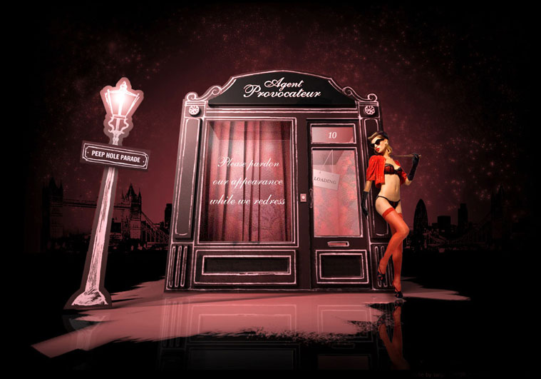 Boutique Agent Provocateur à Cannes