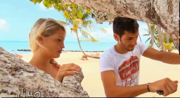 Aurélie et Samir dans l'intimité L'île des vérités
