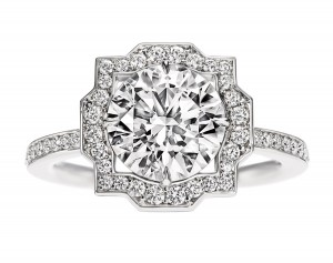 bague en diamants Harry Winston