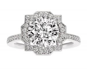 bague en diamants Harry Winston