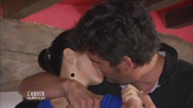 Pierre et Frédérique amoureux