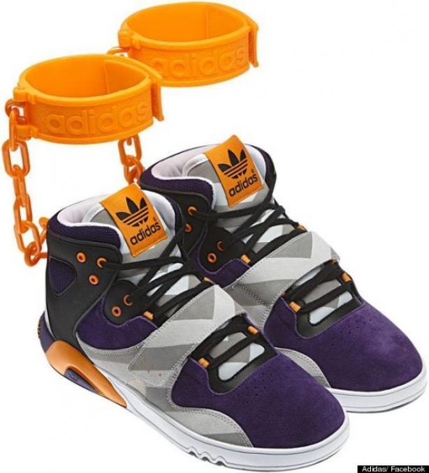 baskets Adidas au coeur d'un scandale