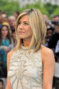 blond de Jennifer Aniston