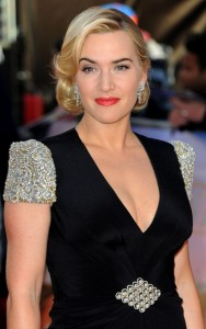 blond Kate Winslet