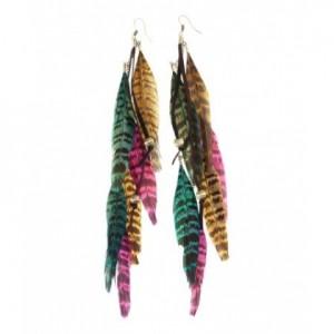 boucles oreilles plumes hm