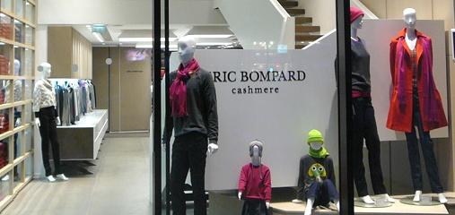 Boutiques Eric Bompard à Paris