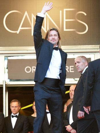 Brad Pitt à Cannes