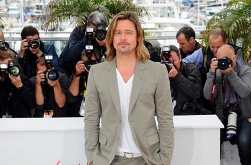 Brad Pitt sans Angelina Jolie à Cannes