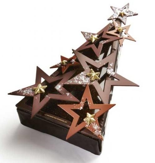 Bûche de Noël La maison du chocolat 2012