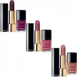 Vernis et rouge Twin Set de Chanel