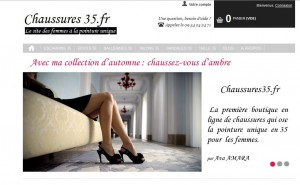 Chaussures pour femmes taille 35