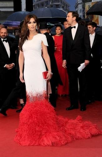 robe de Cheryl Cole à Cannes