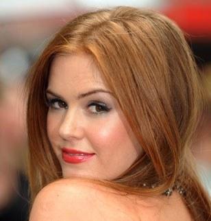 cheveux couleur roux clair