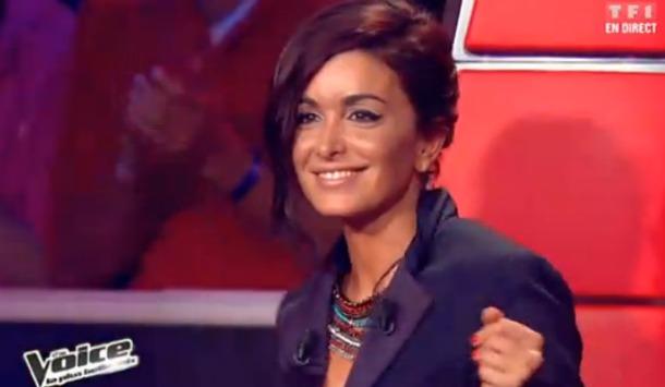 coiffure de Jenifer dans The Voice