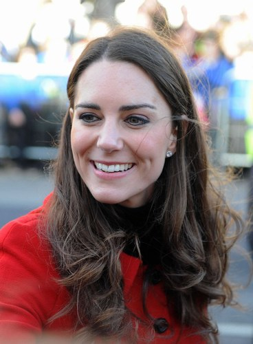 Coiffure de Kate Middleton