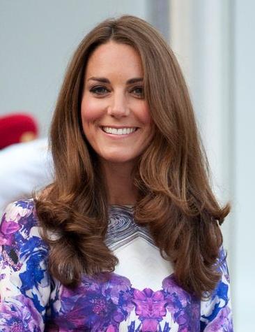 Coiffure de Kate Middleton