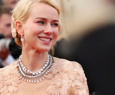 collier de Naomi Watts  à Cannes