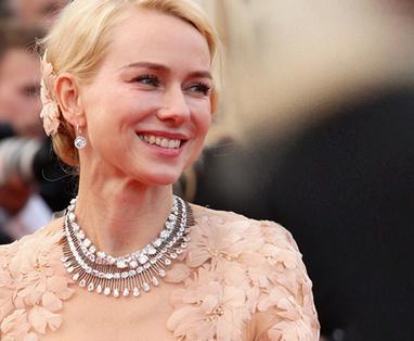 collier de Naomi Watts  à Cannes