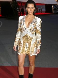 décolleté Kim Kardashian