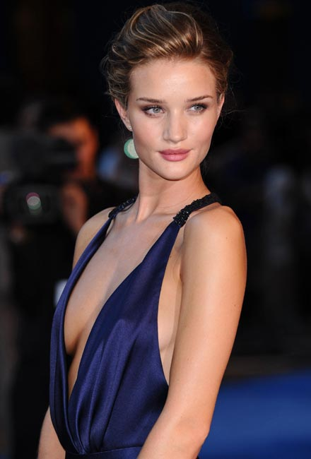 décolleté Rosie Huntington Whiteley