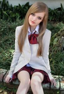 Dakota Rose la poupée vivante