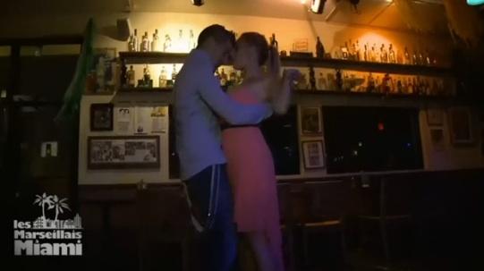 danse sexy Antonin et Stéphanie Les Marseillais à Miami