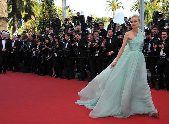 Diane Kruger à l' ouverture du Festival de Cannes