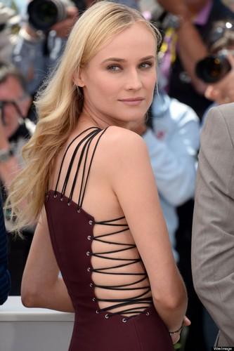 Robe lacée Diane Kruger Cannes