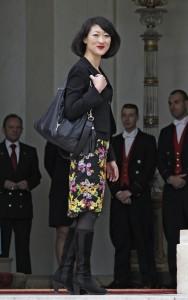 Look Fleur Pellerin