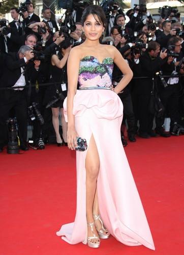 Freida Pinto à Cannes