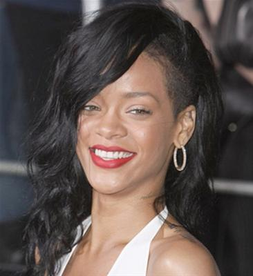 Coupe half hawk Rihanna