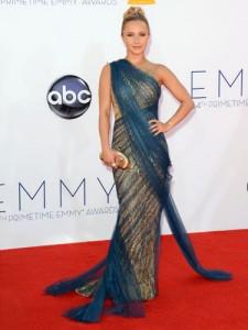 Hayden Panettiere en déesse aux Emmy Awards