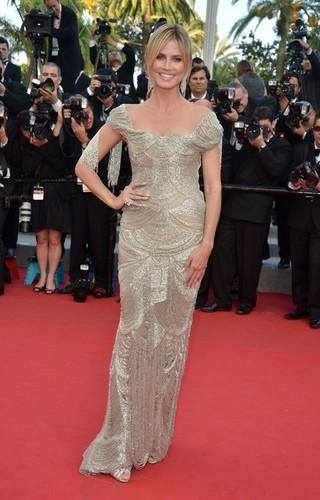Heidi Klum à Cannes