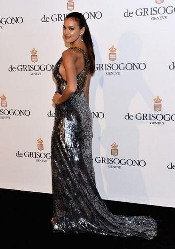 Irina Shayk à Cannes