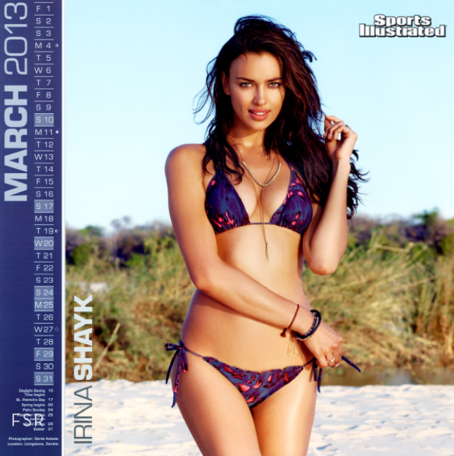 Irina Shayk Sports Illustrated 2013