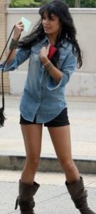 Jambes Vanessa Hudgens