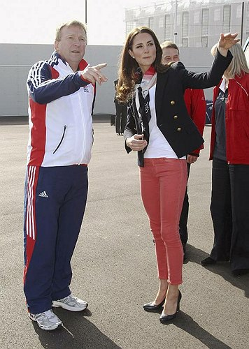 jean corail de Kate Middleton