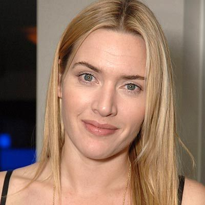 Kate Winslet sans maquillage