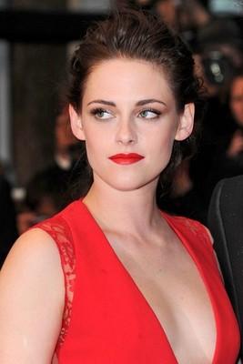 La robe rouge de Kristen Stewart
