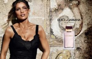 Laetitia Casta visage Dolce Gabbana