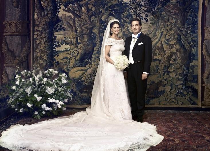 Robe de mariée de Madeleine de Suède