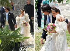 mariage champêtre Missoni Amos