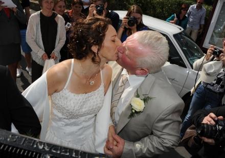 Mariage de Thierry de L'Amour est dans le pré