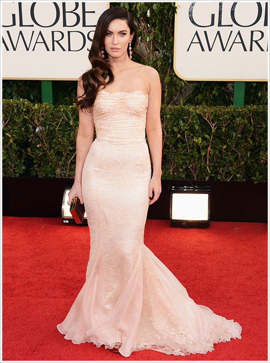 Megan Fox Golden Globes 2013