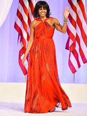 La robe de bal de Michelle Obama pour l'investiture